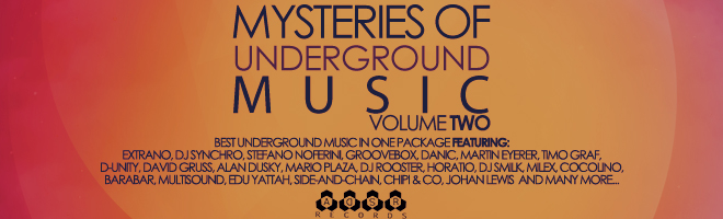Mysteries Of Underground Music ADSR Recods
